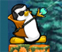 Shoot down some zombies with your epic penguin!