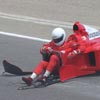 F1 Clienti car shortly after the wreck