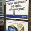 cigarettes vs. fight against cancer