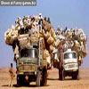Whole willage mooving in one truck strange picture