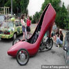 Want a ride in a giant court shoe? photos fun