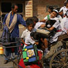 this is how kids travel to school in India