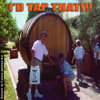 Amusing photos a huge wooden barrel