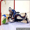 Funny hockey pictures fed up with painful hits