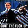 Funny celeb pics Schwarzenegger a senator