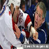 Usa president fighting at hockey game funny george bush pics
