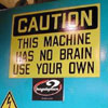 machine doesn's have its own..