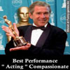 The winner for the best performance is mr president for acting compass