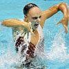 synchronized swimming can be shocking