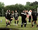 Italian Soccer Team Training