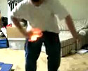 this kid should not play with fire