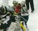 Tomas and Miikka in this goalie fight video