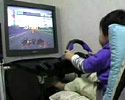 this little kid would beat your ass in this racing game