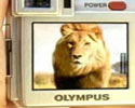 olympus camera with 10x optical zoom clip
