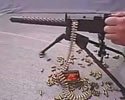 fully operable but very small mini machine gun