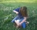 two girls fighting, hair pulling, fists to face and more