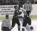 these guys are fighting machines. Hockey fights clip