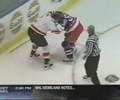 big fight between Rangers and Panthers players