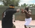Slice fights and beats 300 lbs heavy bouncer