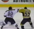 another ice hockey fight. NHL fighting clips