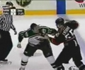 another NHL fist fight. Punches are landing